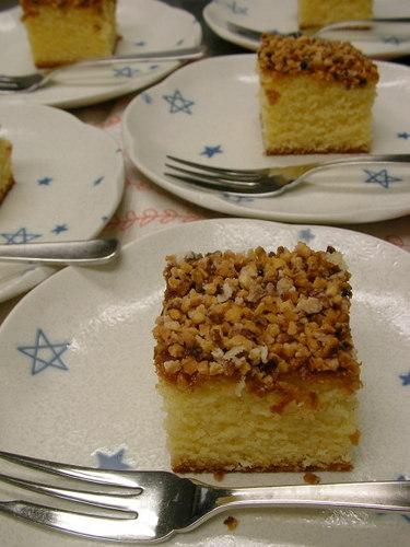 アーモンドスクェアケーキ