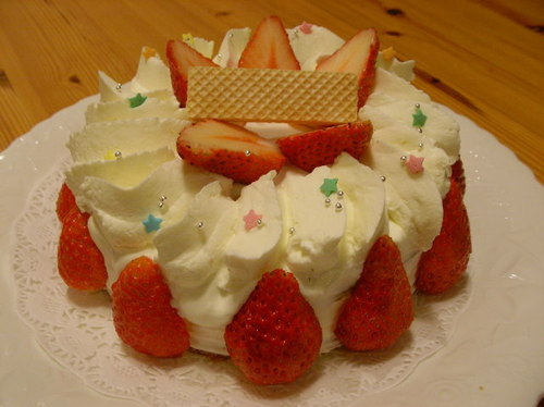 デコレーションケーキ・練習